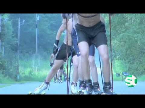 Nordic skiing training -- without the snow