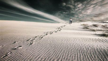 'Hinterm Horizont' von Christine  Ellger