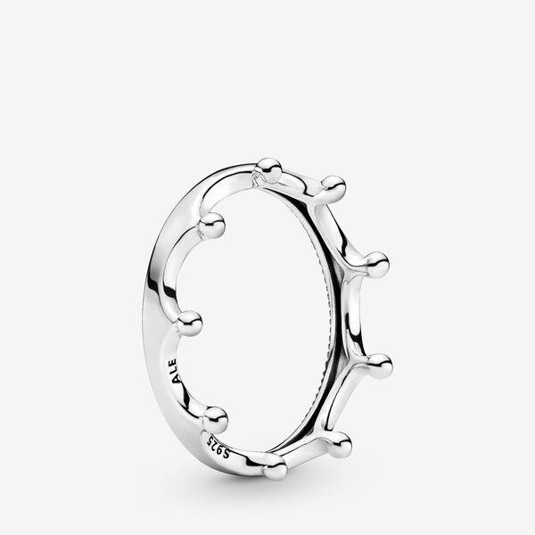 anello pandora corona cuori