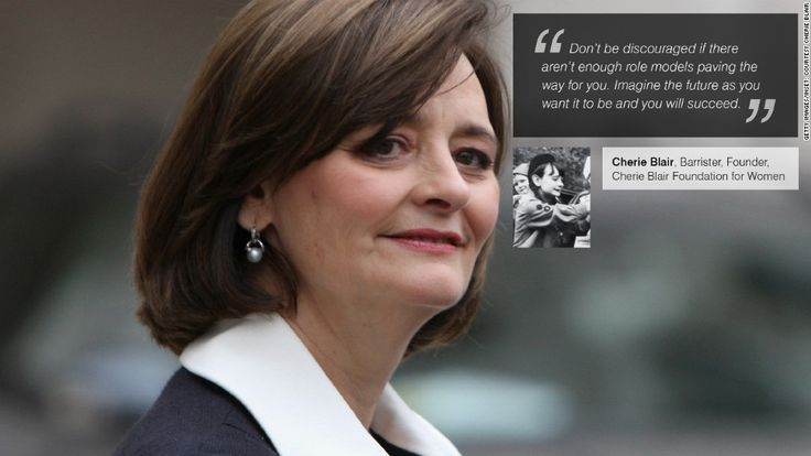 Cherie Blair | International day of the girl: 'To my 15-year-old self' - CNN.com