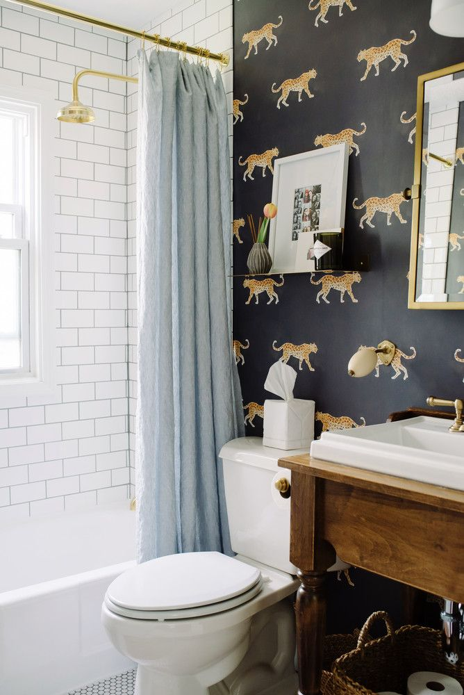 scandinavian home decor- bathroom