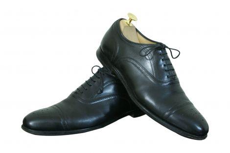 #Chaussures Richelieu #Luxe #CHURCH'S Cuir Noir 42FR 110€