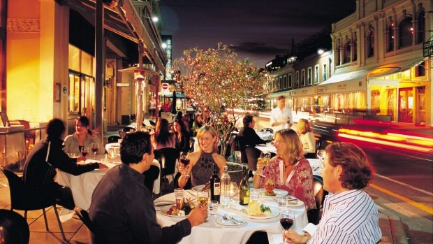 Rundle Street in Adelaide - a foodie mecca.