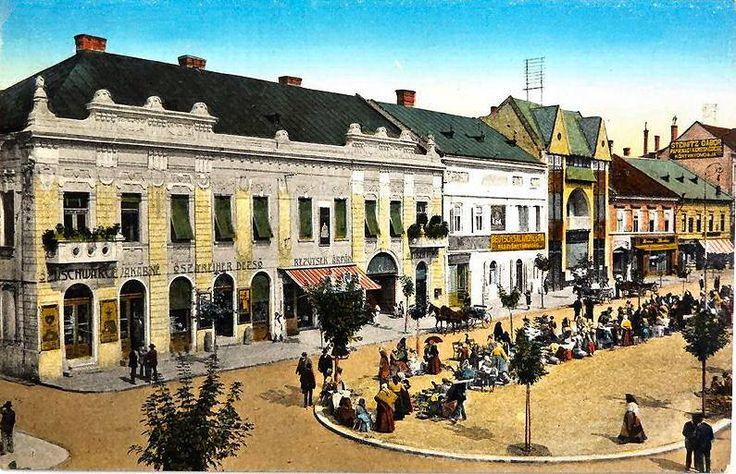 Gyöngyös Főtér 1930