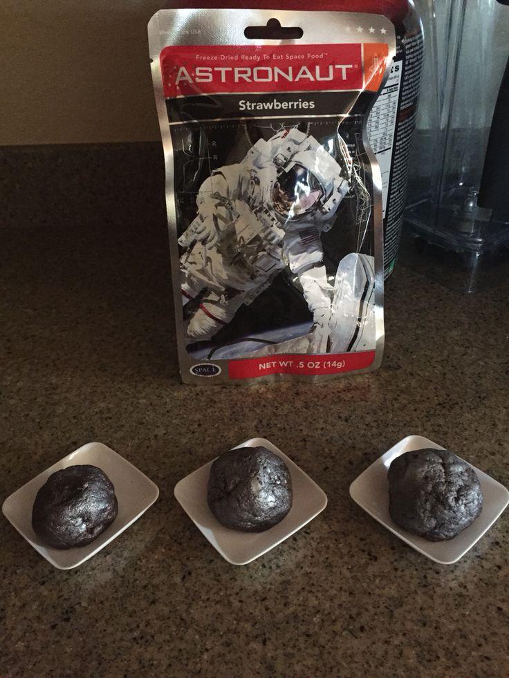 Asteroid brownies space food food freeze drying