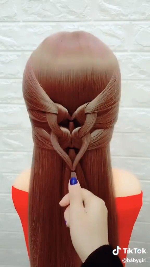 Amazing braided bun TUTORIAL ❤ -  Amazing braided bun TUTORIAL ❤  - #amazing #braided #Bun #diyhairstyleslong #hairstylesweddingguest #tutorial