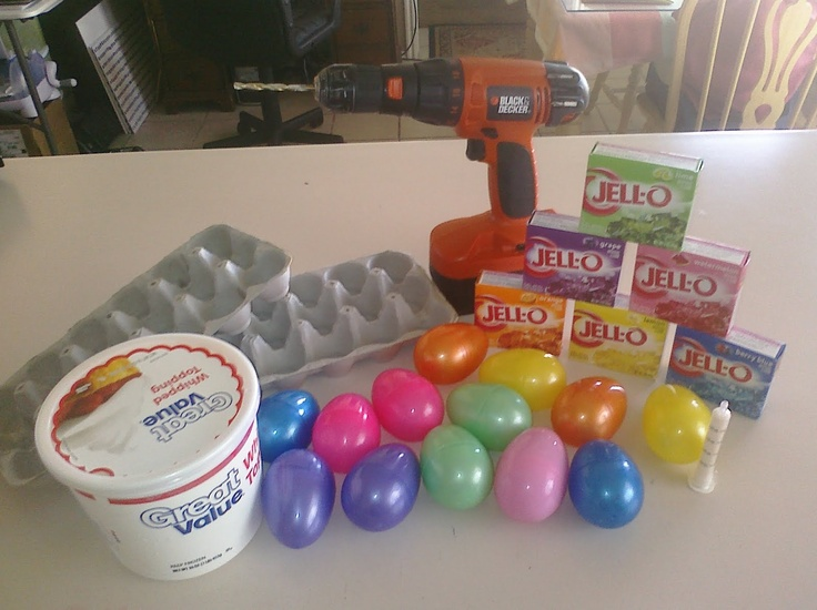 RobbyGurl's Creations: DIY Easter Egg Jello Molds
