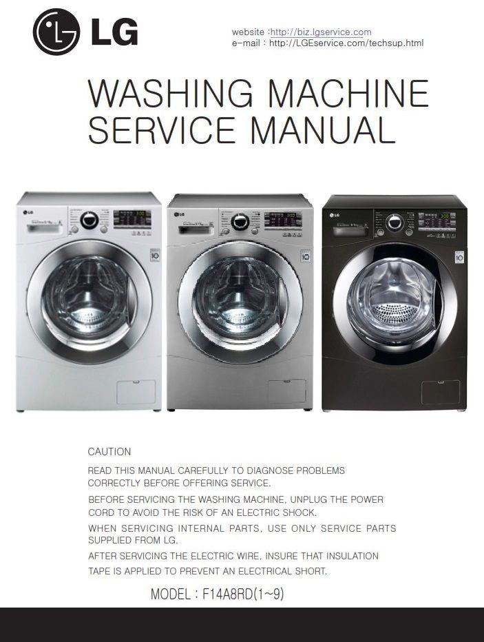 Lg F14a8rd F14a8rd5 F14a8rd6 Washing Machine Service Manual Washing Machine Service Washing Machine Washing Machine Dryer
