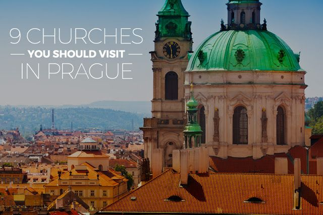 There are many churches in Prague - old, new, tall, small, world known or unknown - and it is impossible to see them all during one visit. That's why we prepared list of 9 Prague churches you should visit or (if you don't have much time) at least see their exterior. We promise you will not regret it!
