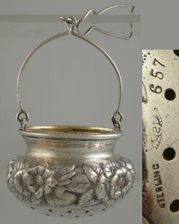 Shiebler Tea Strainer