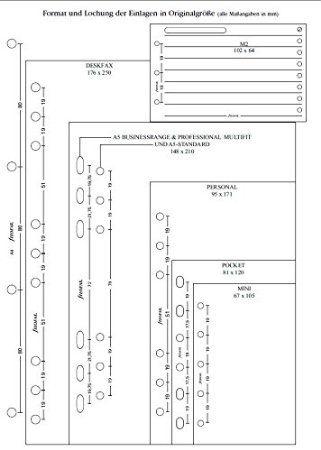 Filofax Agenda Personale, Pacchetto di 100 fogli: Amazon.it: Cancelleria e prodotti per ufficio