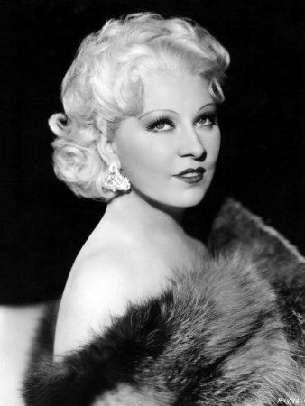 """Love this woman.  Mae West.  """"I've never know exactly what a feminist is, except that I've been called one every time I express a sentiment that differentiates me from a doormat or a prostitute."""""""