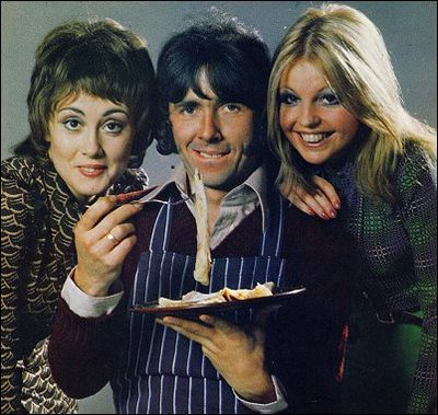 Man About The House, starring Richard O'Sullivan, Paula Wilcox, and Sally Thomsett