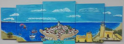 ********  Losillo Arte  ******** ¡¡Date un homenaje con Arte!!:  Pintado para ADARO S.C.A. de Interés Social, empr...