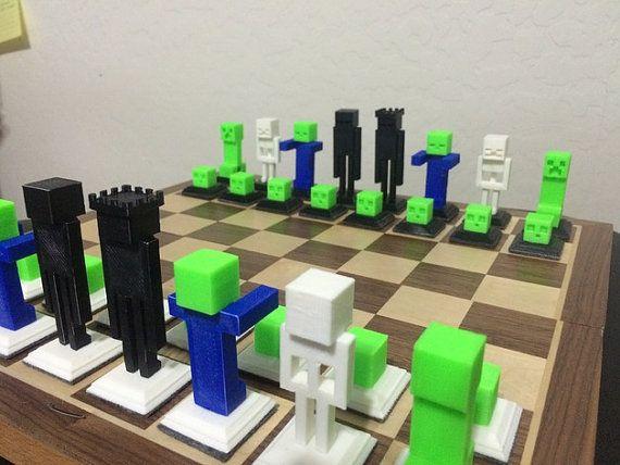 Minecraft Chess Set