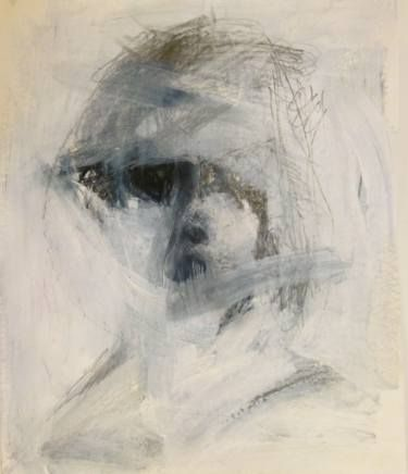"Saatchi Art Artist Cynthia Gregor; Drawing, ""Her worse face"" #art"