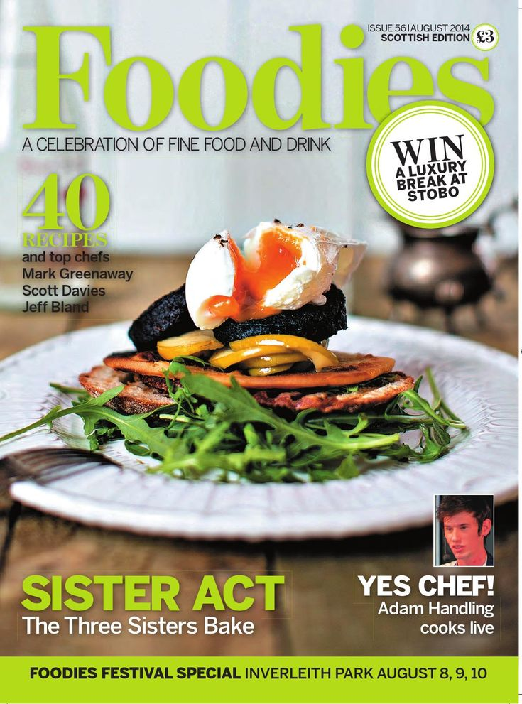 Foodies Magazine August Issue 2014