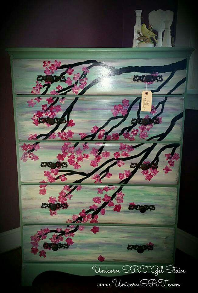 Unicorn Spit Painted Furniture Pinterest Unicorns