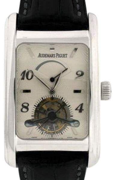 Audemars Piguet Eduard Piguet Power Reserve 18K White Gold Tourbillon 49mm Mens Watch.   Audemars Piguet watch – search for AP watch can be AP watch men, AP watch price, ap watch for sale or audemar watch.