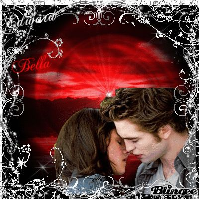 Edward & Bella - Red New Moon Kiss