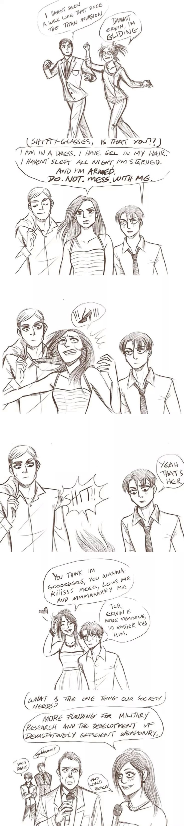 erwin and levi relationship quotes
