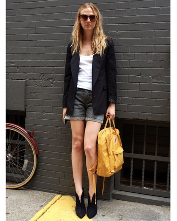 Backpack Street Style Streetstyle Kanken 6 Kanken Pinterest Blazers Inspiration And Catwalks