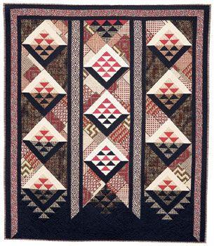 Made in New Zealand II: Quilt Gallery / Heather harding, Taniko Series, 2004