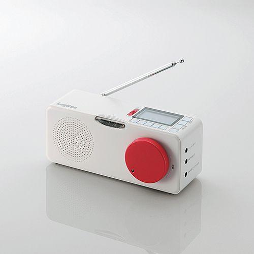 ログインで超オトク![掘り出し物]地震警報機能付きラジオ【LRT-ER100】