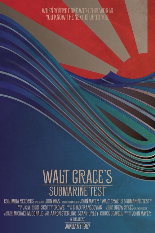 Walt Grace-John Mayer My favorite song on the Born & Raised album.