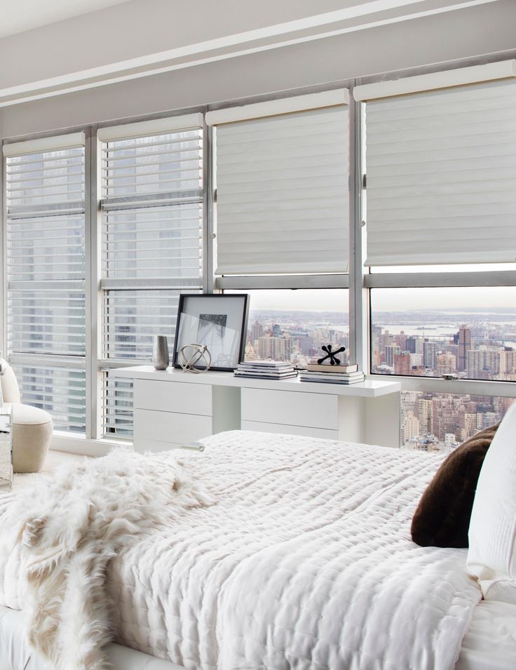 Just found the perfect window treatments!! - Blinds.com. –  Economy Light Filtering Horizontal Sheer Shade #homedecor #blinds #sheer-shades--horizontal-sheer-shades