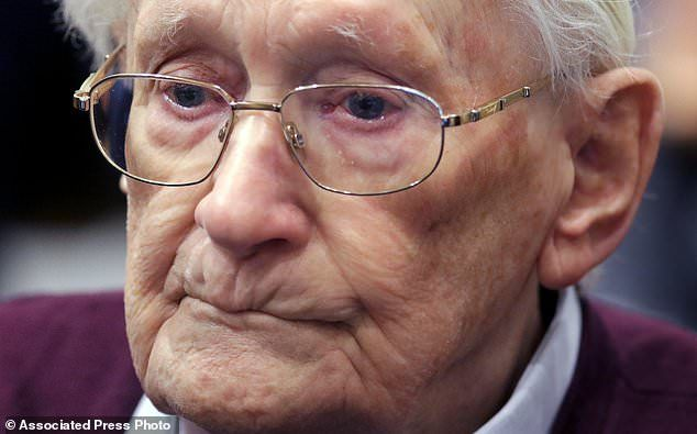 Court insists 96-year-old Nazi mass murder abettor spend 4 years in jail