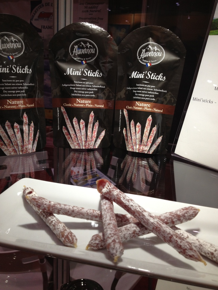 Most deli sticks are down market but this elegant version belongs on a fancy silver tray.