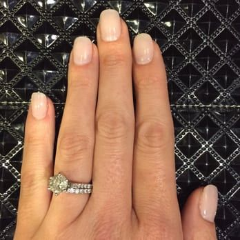 Just the way I like it. Acrylic nails that are thin and look natural. :) - Yelp