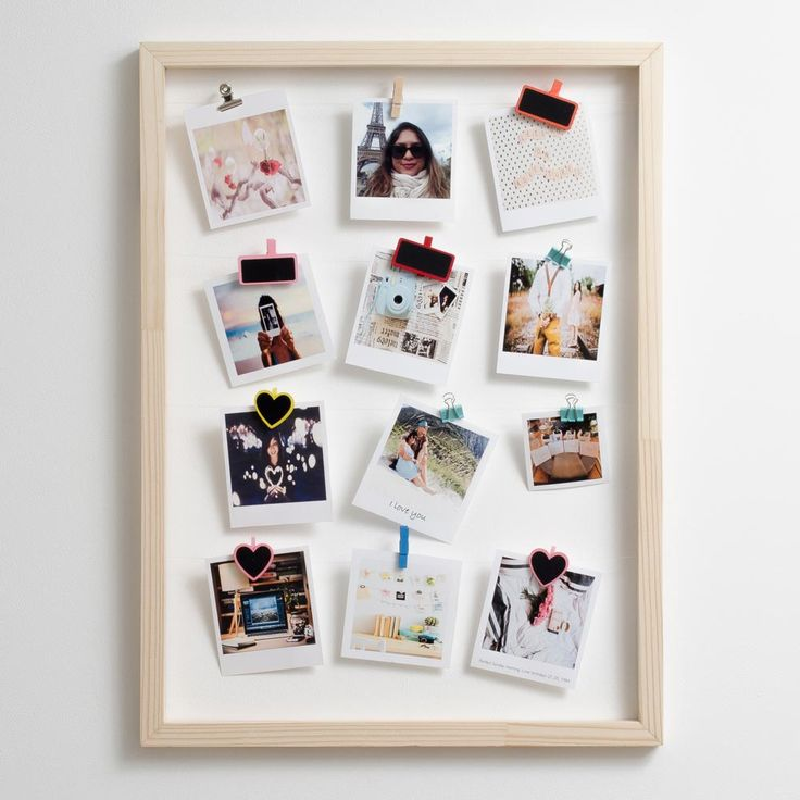 Timeframe's Large Floating Frame is the perfect way to show off your super cute snaps. This frame + your pics and our pegs = a stylish display of your memories.   This frame is made with pine and rope.