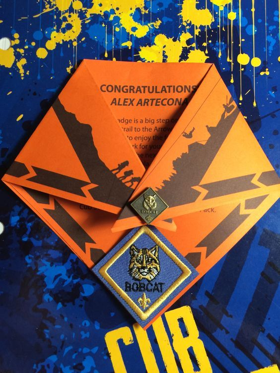 Printable PDF for Cub Scouts earning their Bobcat badge. Change Rank by turning…