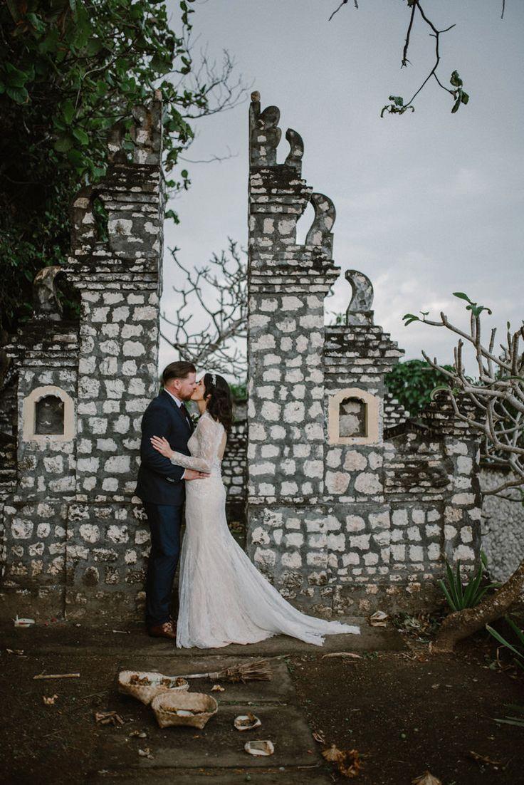 Romantic Bali Clifftop Wedding - Photo by Bird On The Wall http://www.birdonthewallphotography.com/