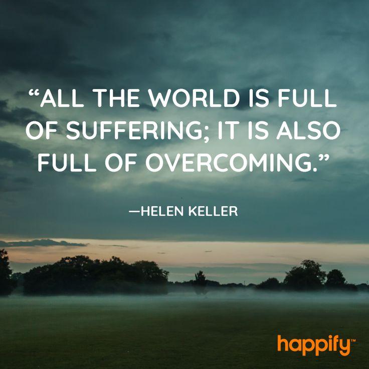 Setbacks Are Inevitable, But So Is This - Helen Keller