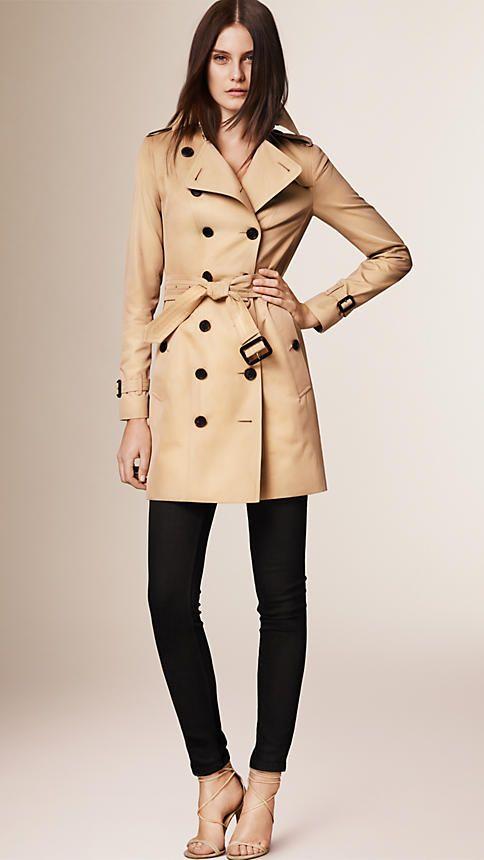 Mel The Sandringham - Trench coat tradicional médio - Imagem 1