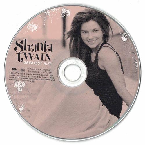 Shania Twain Greatest Hits 2004 CD Professionally Cleaned