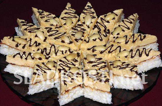 Kokosové řezy s karamelem