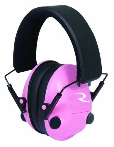 Radians Pink Pro-Amp Electronic Ear Protection Muff by Radians. Radians Pink Pro-Amp Electronic Ear Protection Muff.