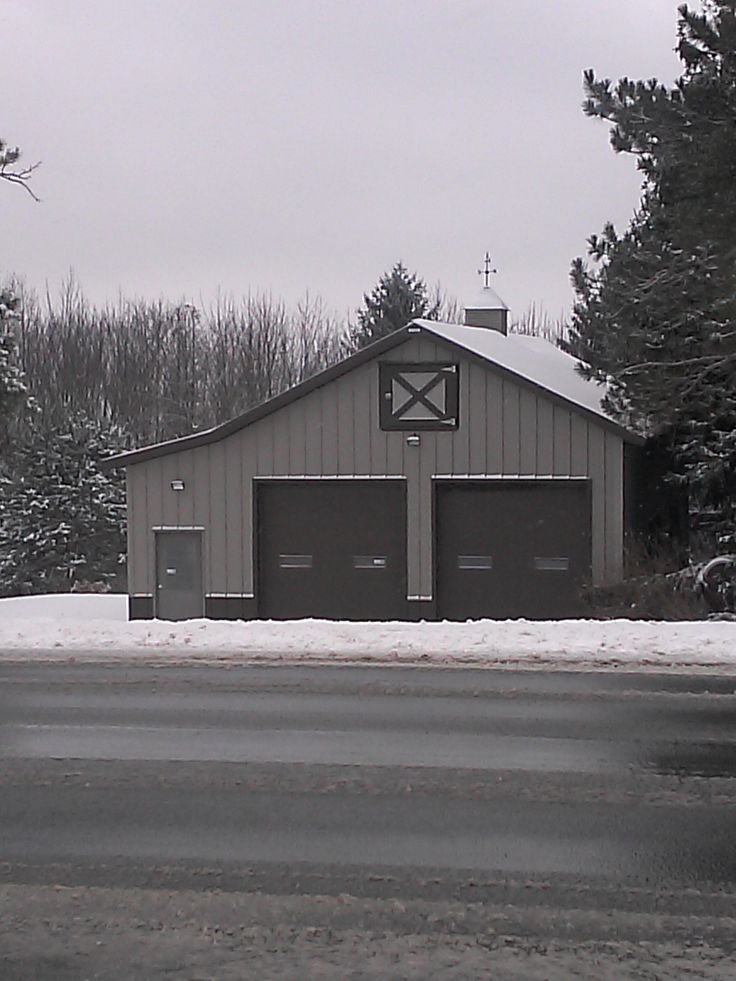 151 best images about barns on pinterest sheds pole for 16x10 garage door