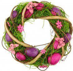 Seizis Velikonoční věnec fialový