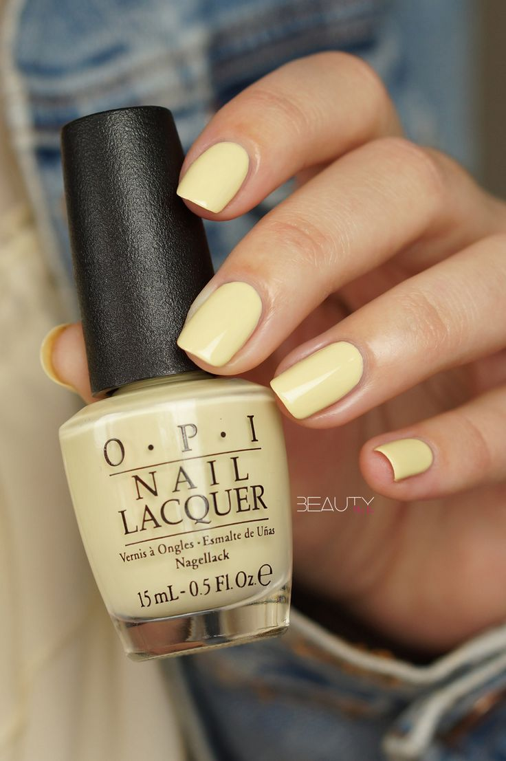 OPI — One Chic Chick (Soft Shades Collection | Spring 2016)