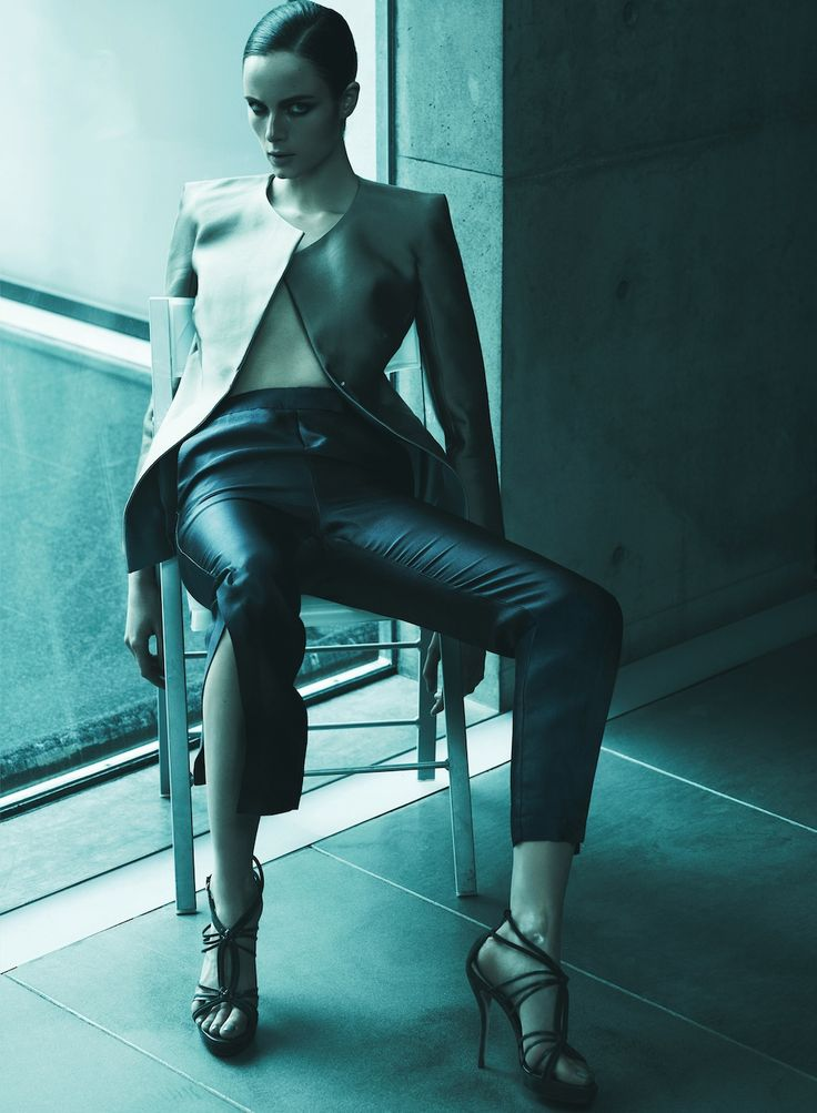 La Perla De Giorgio | Anna de Rijk | Rafael Stahelin #photography | Harper's Bazaar Spain June 2012