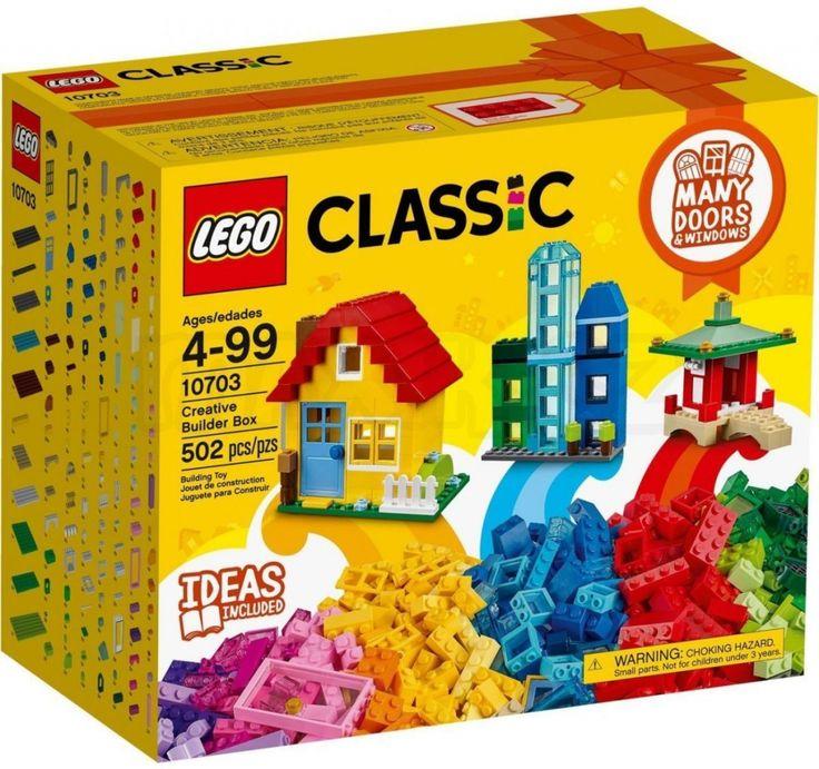 LEGO CLASSIC 10703 Kreativní box pro stavitele - 0