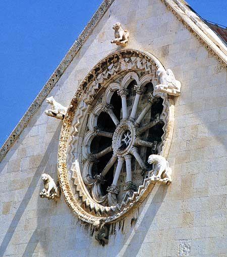 Rose Windows of Apulian Cathedrals  -Giovinazzo, Puglia, Italy, province of Bari