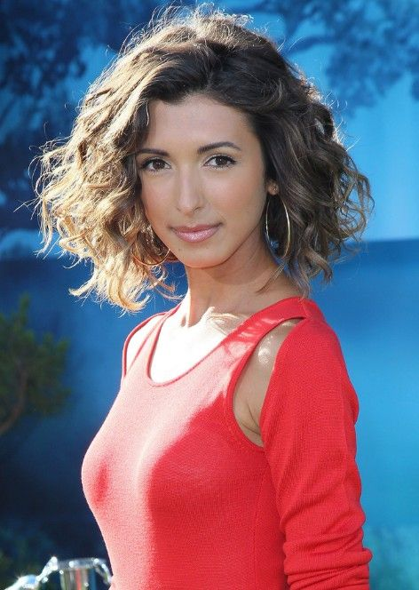 For me for short hair ..India de Beaufort Curly Hairstyle for Thick Hair