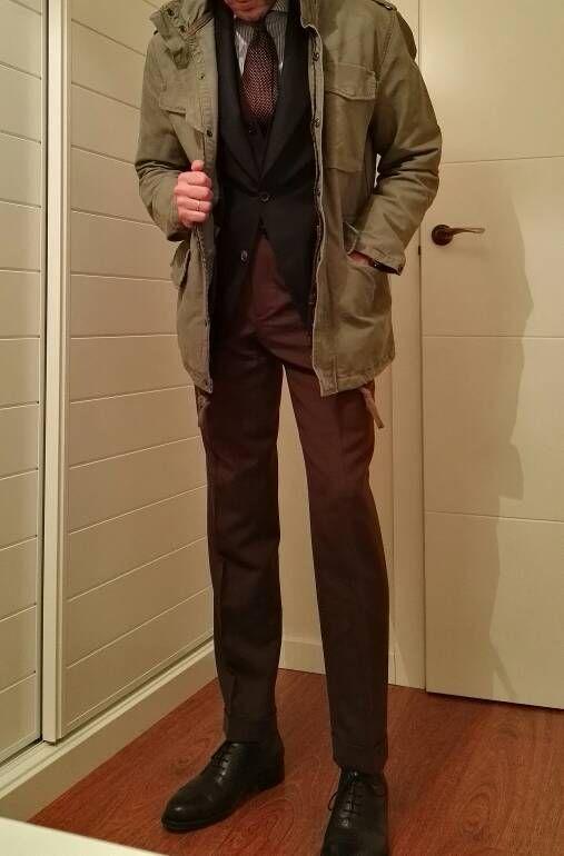 Prendas militares (I): La chaqueta M-65 - Página 2 http://www.rincondecaballeros.com/blog/ #me #rincondecaballeros #styleforum #mensfashionpost #menstyle #menswear #mensfashion #menwithclass #menstyleguide #guyswithstyle #bespoke #outfitoftheday #model #dapperedmen #elegance #fashionformen #instagood #sartorial #sprezzatura #simplydapper #igers #wiwt #outfit #fashion #instastyle #instafashion #ootd #follow #gq