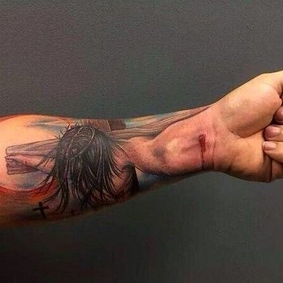 Christ Tattoos